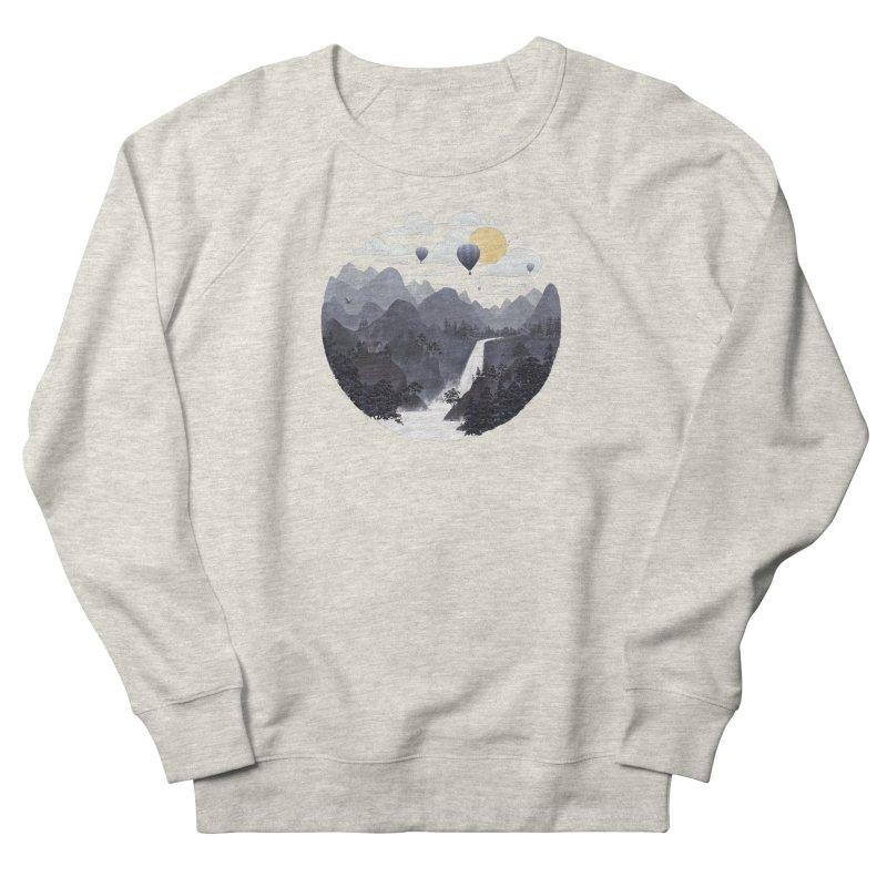 Roundscape II Men's Sweatshirt by Fil Gouvea's Artist Shop