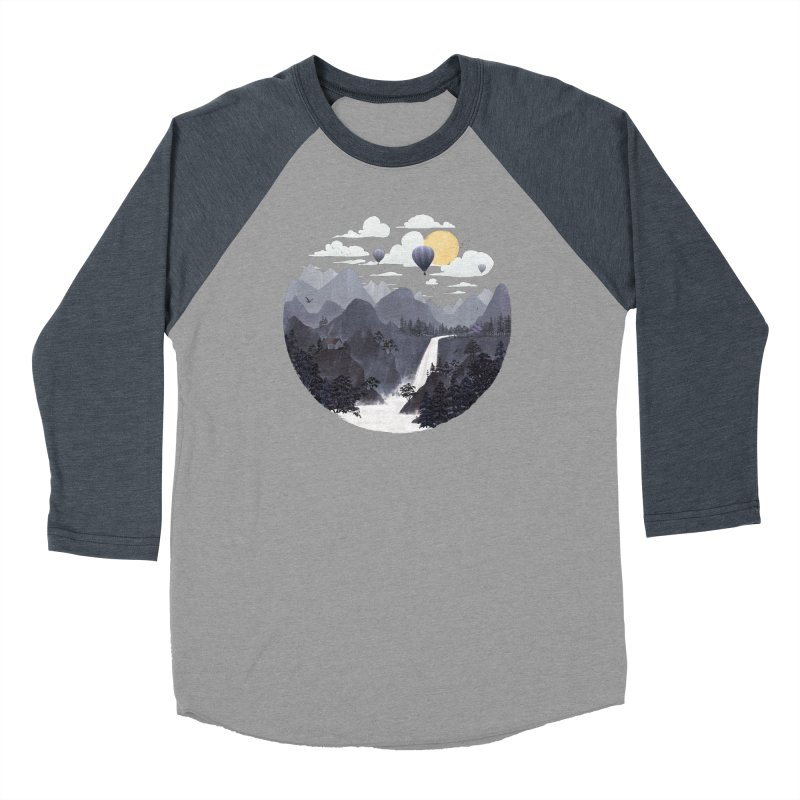 Roundscape II Women's Baseball Triblend T-Shirt by Fil Gouvea's Artist Shop