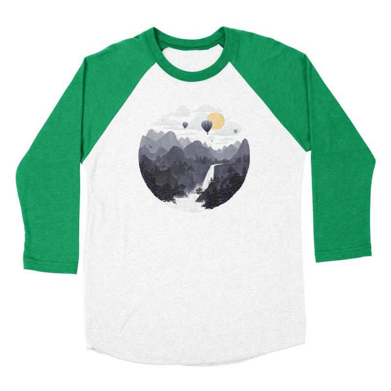Roundscape II Men's Baseball Triblend T-Shirt by Fil Gouvea's Artist Shop