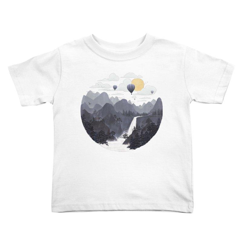 Roundscape II Kids Toddler T-Shirt by Fil Gouvea's Artist Shop