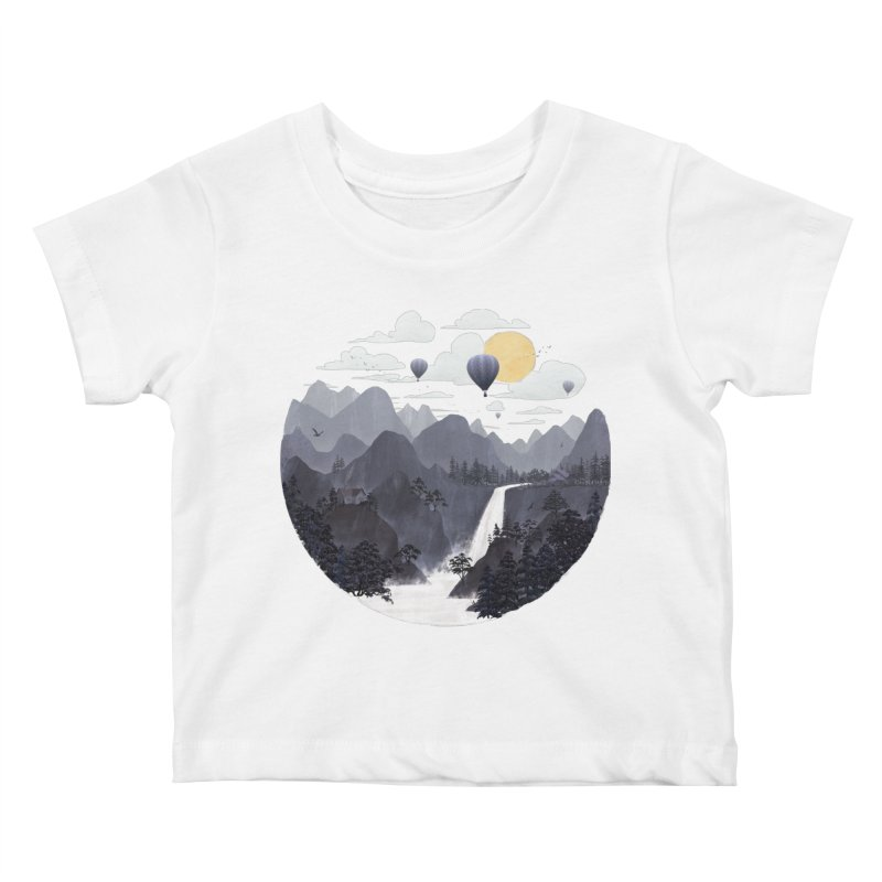Roundscape II Kids Baby T-Shirt by Fil Gouvea's Artist Shop