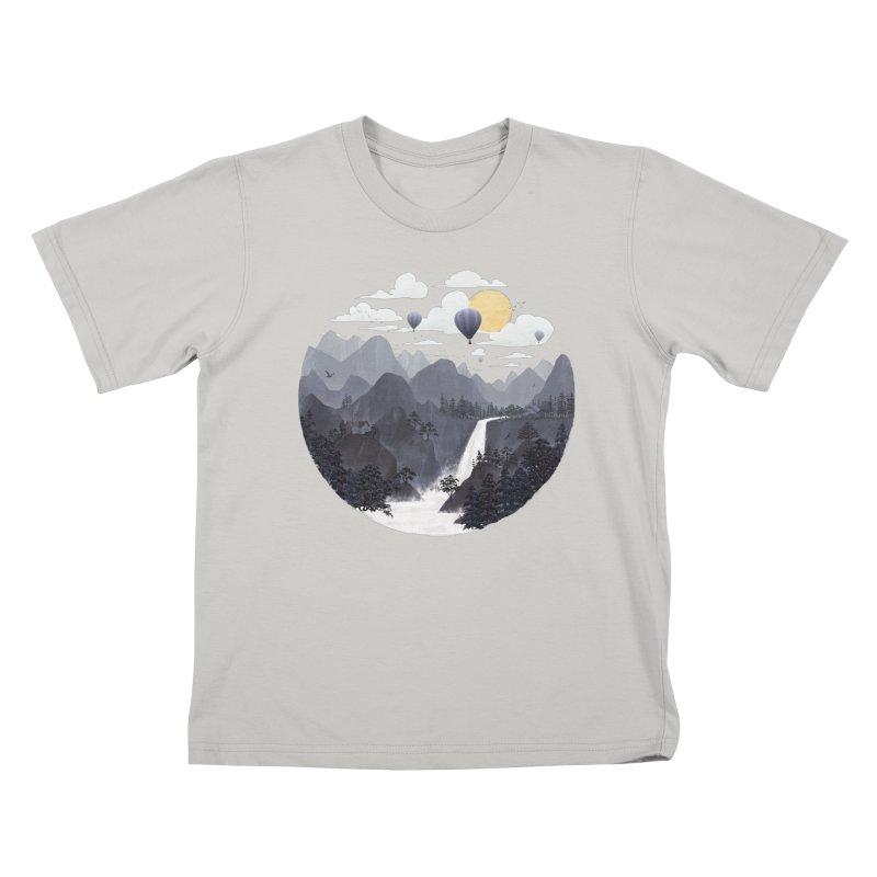 Roundscape II Kids T-Shirt by Fil Gouvea's Artist Shop