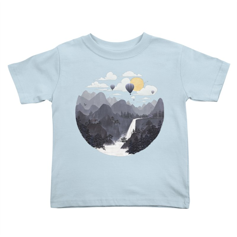 Roundscape II Kids Toddler T-Shirt by Fil Gouvea's Artist Shop