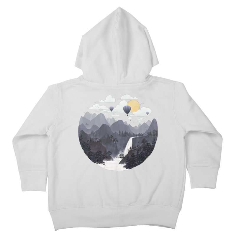Roundscape II Kids Toddler Zip-Up Hoody by Fil Gouvea's Artist Shop