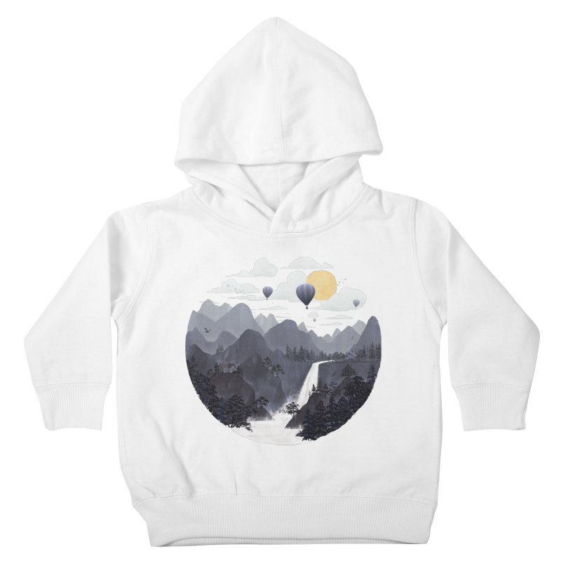 Roundscape II Kids Toddler Pullover Hoody by Fil Gouvea's Artist Shop