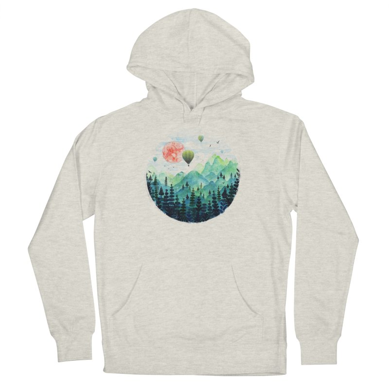 Roundscape Men's Pullover Hoody by Fil Gouvea's Artist Shop