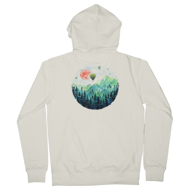 Roundscape Women's Zip-Up Hoody by Fil Gouvea's Artist Shop