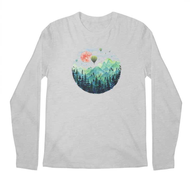 Roundscape Men's Longsleeve T-Shirt by Fil Gouvea's Artist Shop