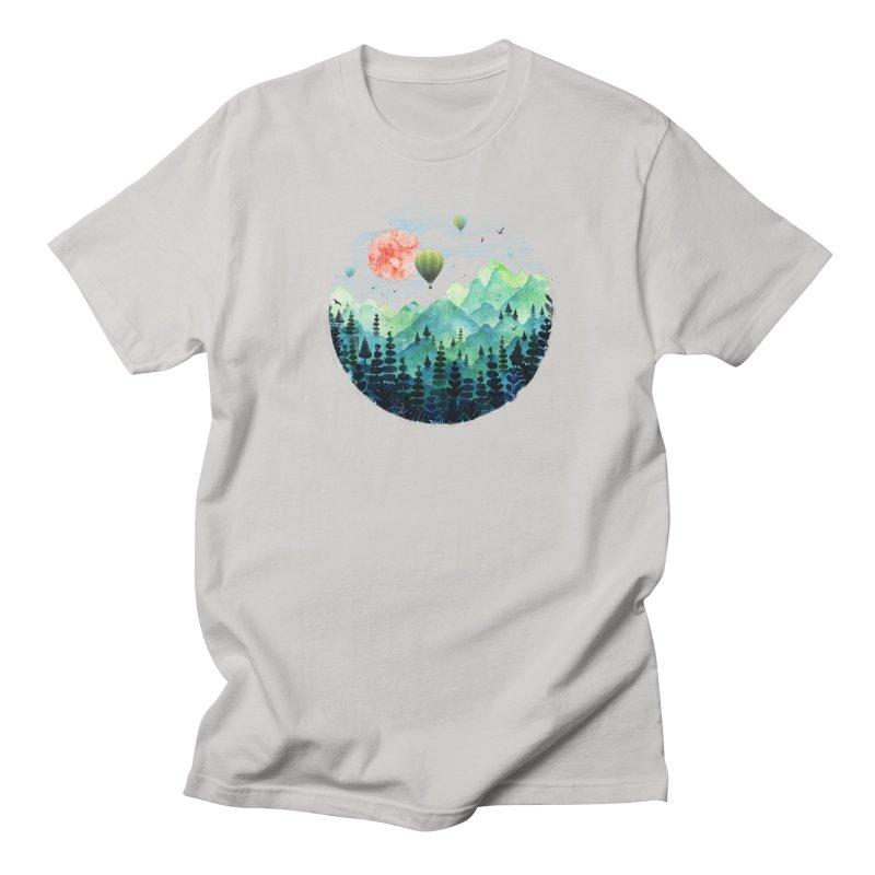 Roundscape Men's T-shirt by Fil Gouvea's Artist Shop
