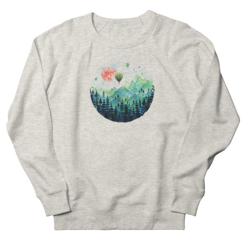 Roundscape Women's Sweatshirt by Fil Gouvea's Artist Shop