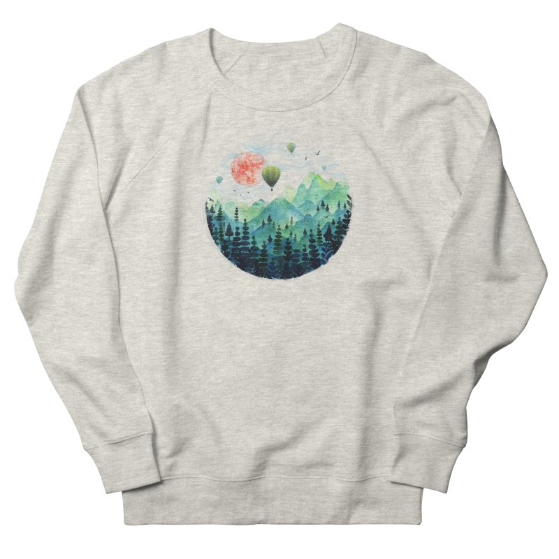 Roundscape Men's Sweatshirt by Fil Gouvea's Artist Shop