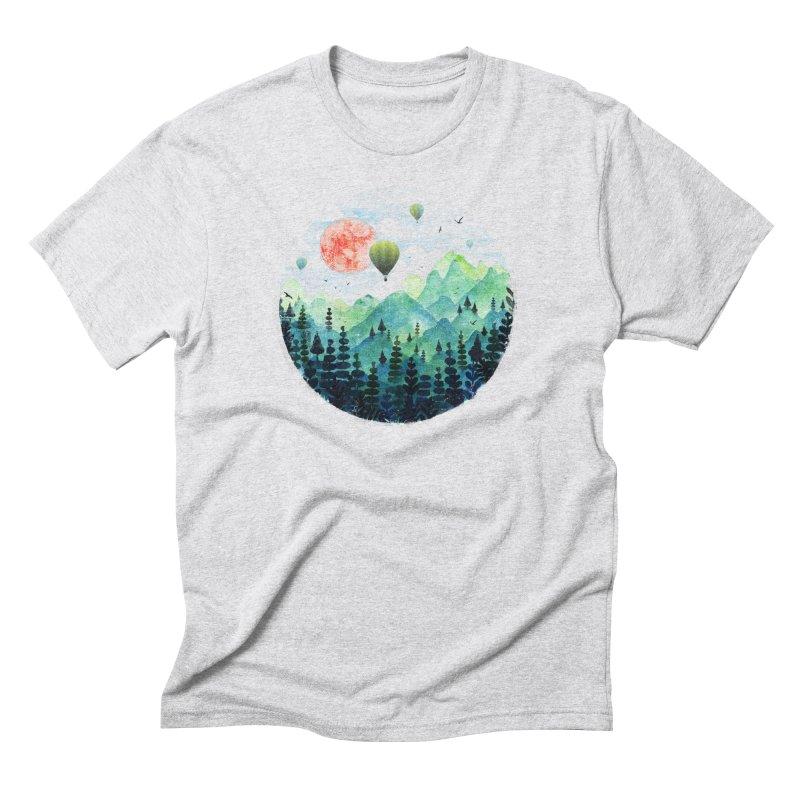 Roundscape Men's Triblend T-shirt by Fil Gouvea's Artist Shop