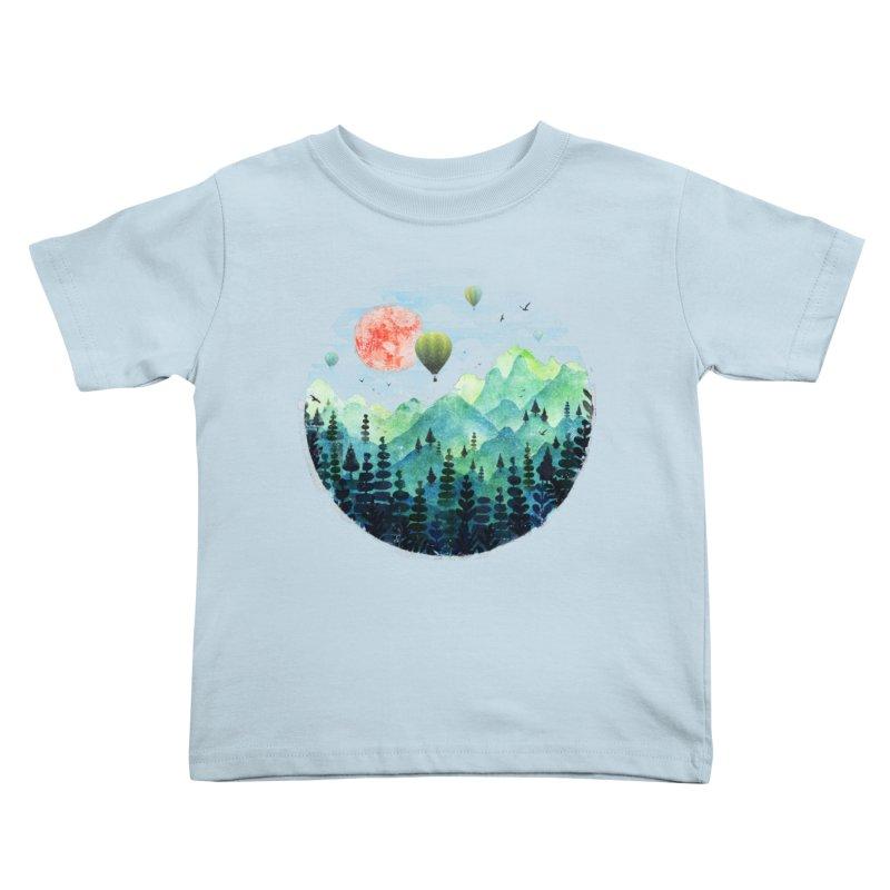 Roundscape Kids Toddler T-Shirt by Fil Gouvea's Artist Shop