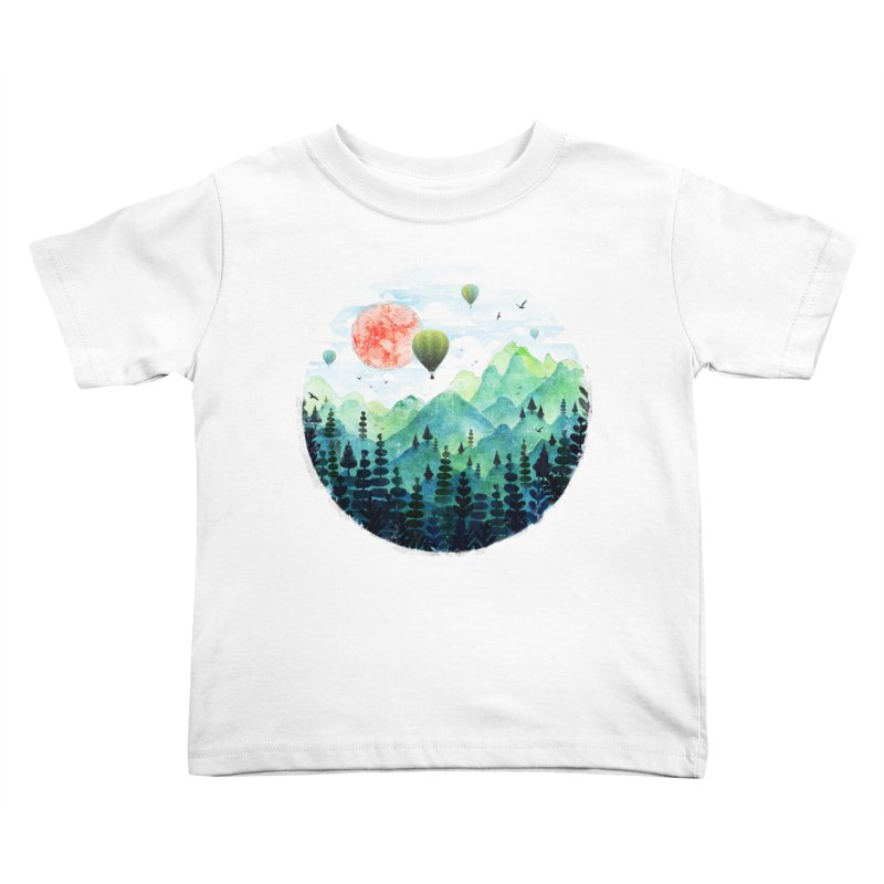 Roundscape Kids Toddler T-Shirt by Fil Gouvea's Artist Shop