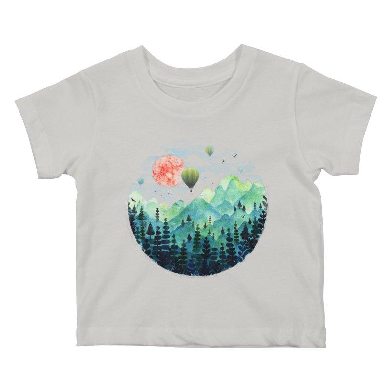 Roundscape Kids Baby T-Shirt by Fil Gouvea's Artist Shop
