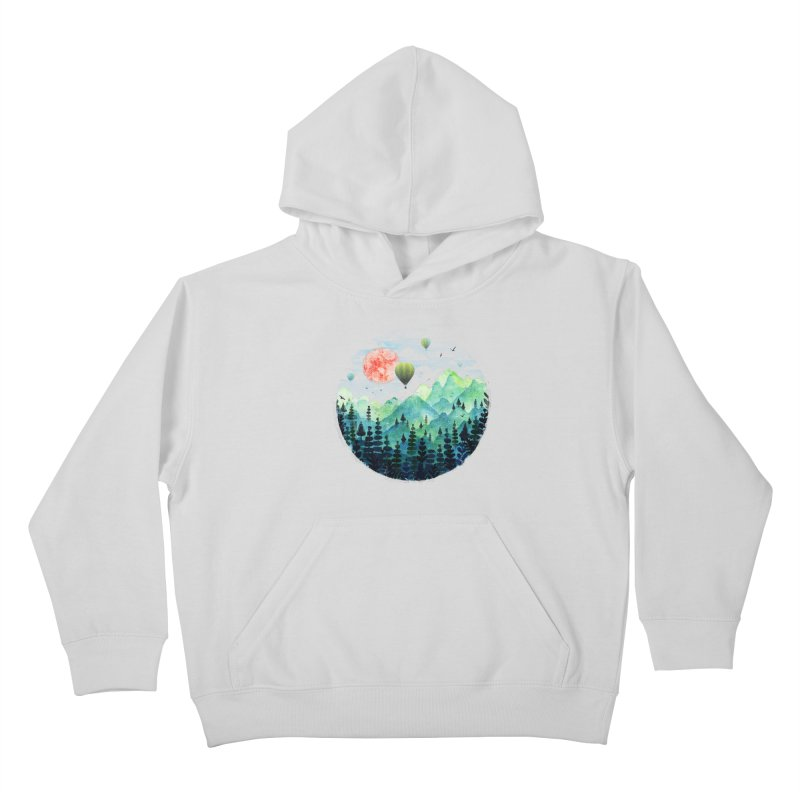Roundscape Kids Pullover Hoody by Fil Gouvea's Artist Shop