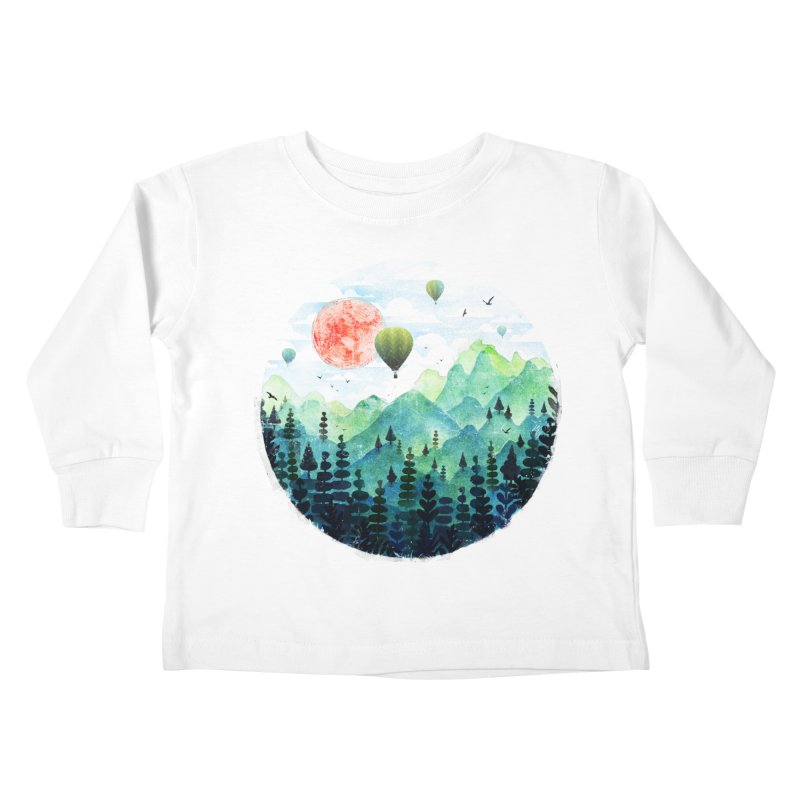 Roundscape Kids Toddler Longsleeve T-Shirt by Fil Gouvea's Artist Shop