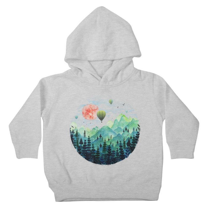 Roundscape Kids Toddler Pullover Hoody by Fil Gouvea's Artist Shop