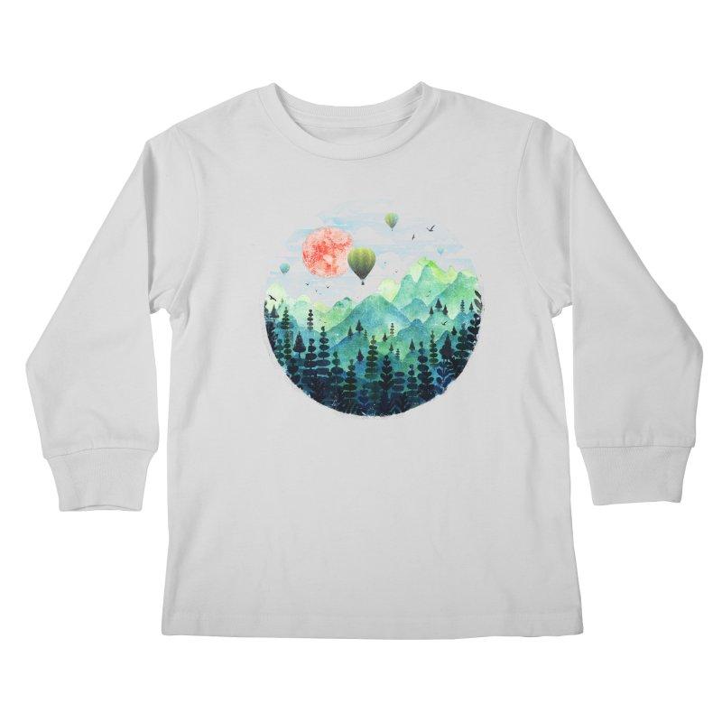 Roundscape Kids Longsleeve T-Shirt by Fil Gouvea's Artist Shop