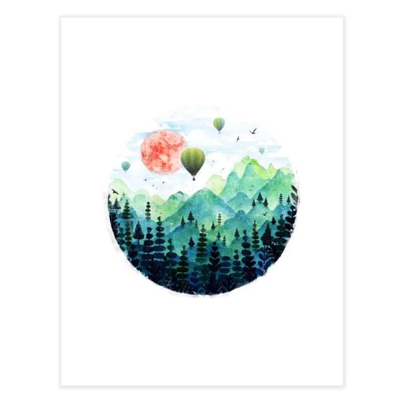 Roundscape Home Fine Art Print by Fil Gouvea's Artist Shop