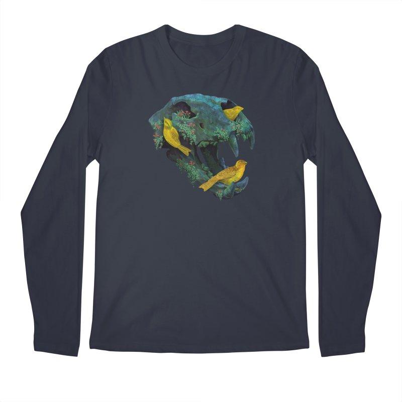 Three Little Birds Men's Longsleeve T-Shirt by Fil Gouvea's Artist Shop