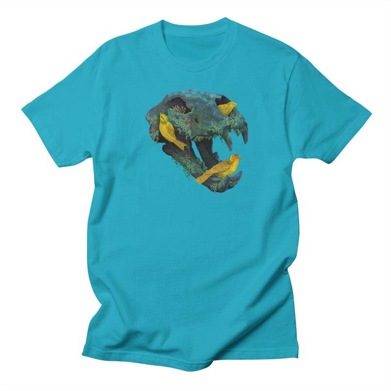 Three Little Birds Men's T-Shirt by Fil Gouvea's Artist Shop