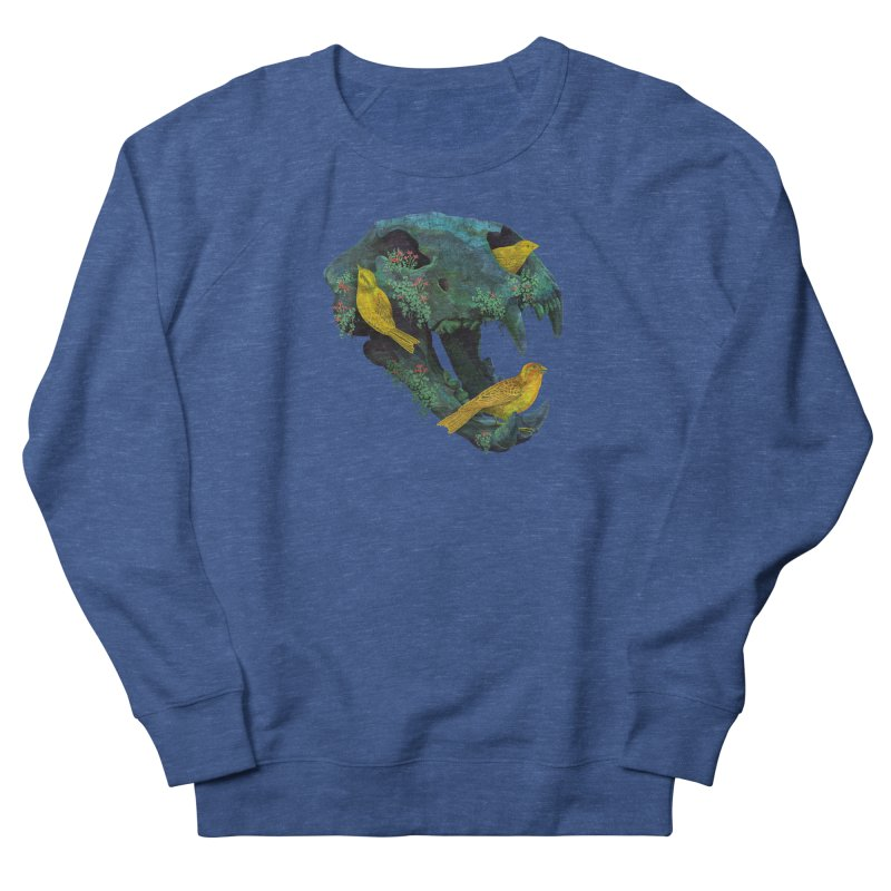 Three Little Birds Men's Sweatshirt by Fil Gouvea's Artist Shop