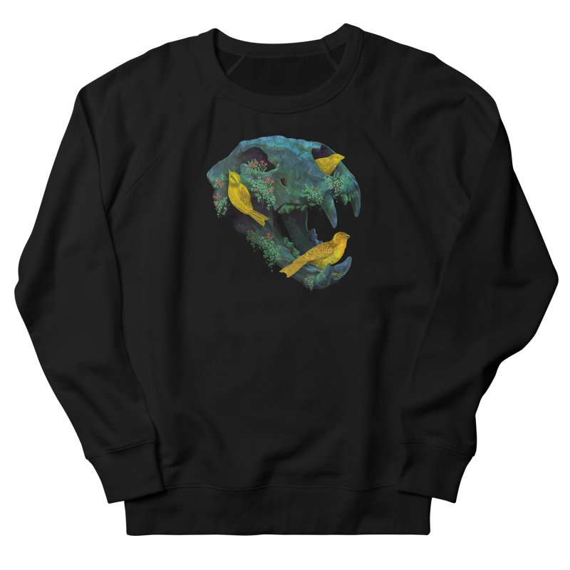 Three Little Birds Men's Sweatshirt by Fil Gouvea's Artist Shop