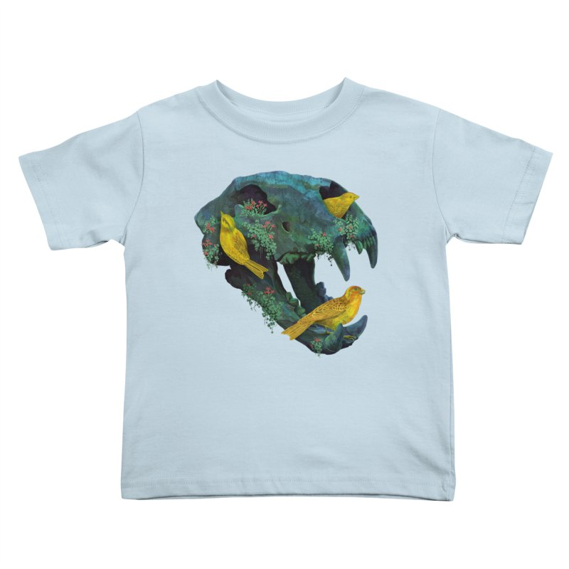 Three Little Birds Kids Toddler T-Shirt by Fil Gouvea's Artist Shop