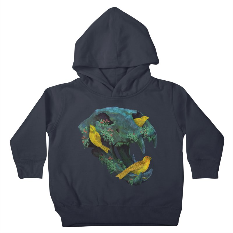 Three Little Birds Kids Toddler Pullover Hoody by Fil Gouvea's Artist Shop