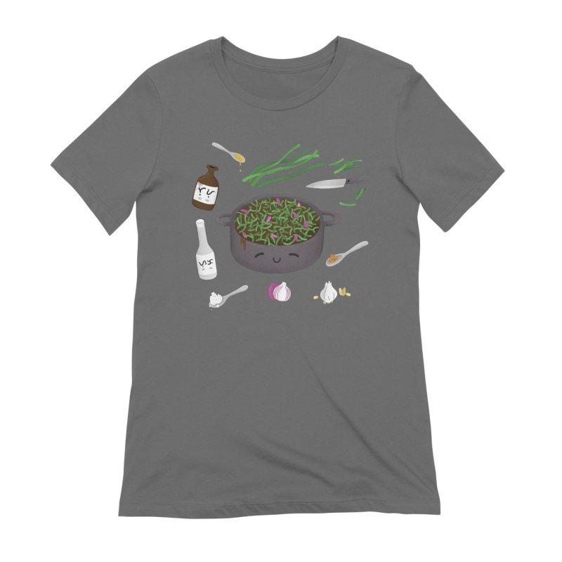 Adobong Sitaw Women's T-Shirt by Filipeanut Sari-Sari Store
