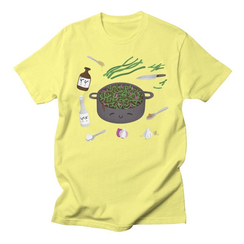 Adobong Sitaw Men's T-Shirt by Filipeanut Sari-Sari Store
