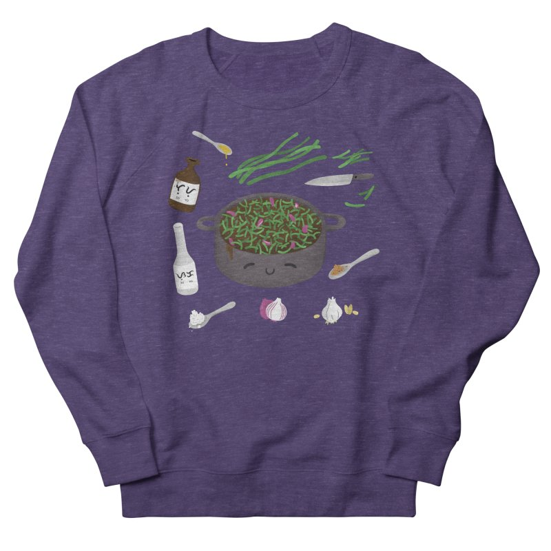 Adobong Sitaw Women's French Terry Sweatshirt by Filipeanut Sari-Sari Store