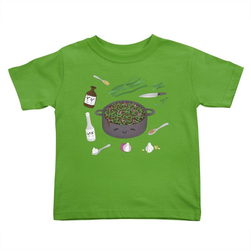 Adobong Sitaw Kids Toddler T-Shirt by Filipeanut Sari-Sari Store