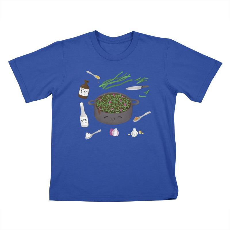 Adobong Sitaw Kids T-Shirt by Filipeanut Sari-Sari Store