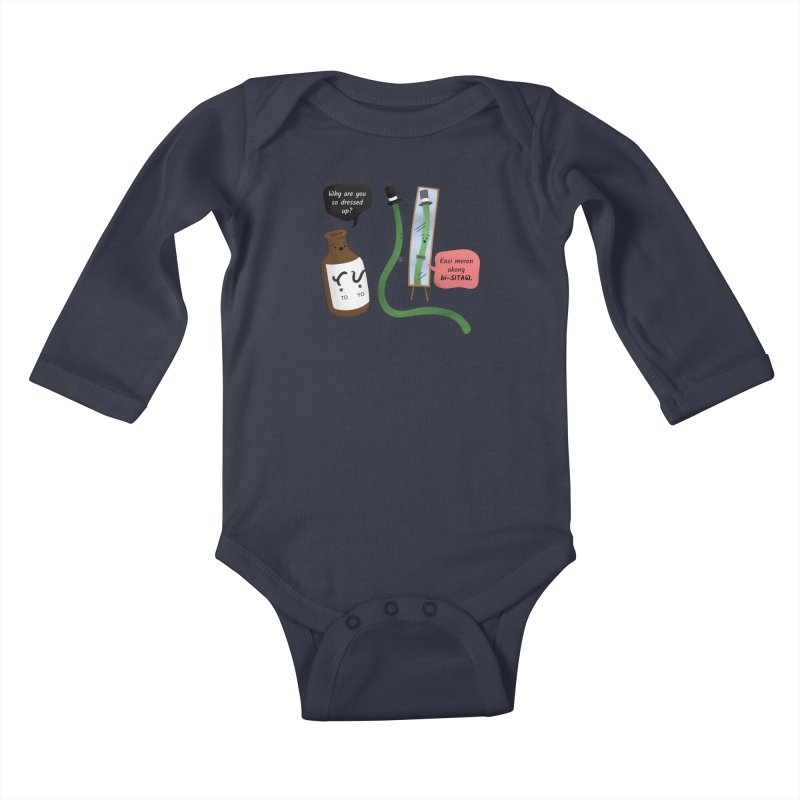 Bi-sitaw Kids Baby Longsleeve Bodysuit by Filipeanut Sari-Sari Store