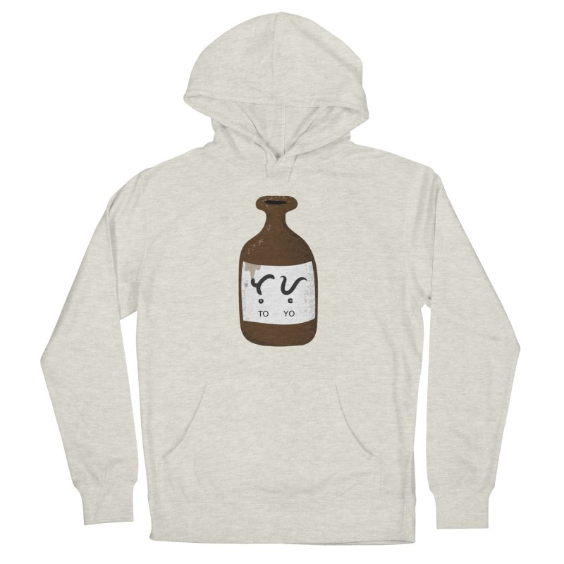 Toyo (soy sauce) Men's French Terry Pullover Hoody by Filipeanut Sari-Sari Store