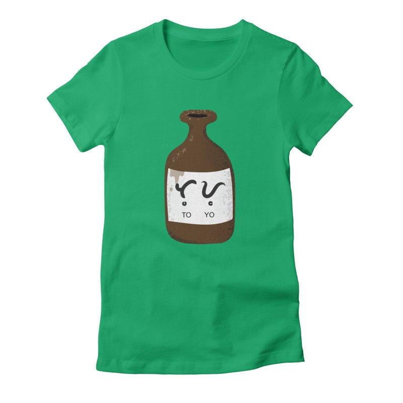 Toyo (soy sauce) Women's Fitted T-Shirt by Filipeanut Sari-Sari Store
