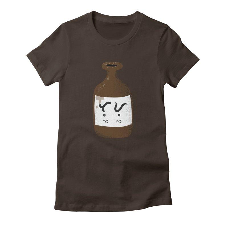 Toyo (soy sauce) Women's T-Shirt by Filipeanut Sari-Sari Store