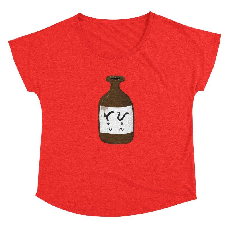 Toyo (soy sauce) Women's Scoop Neck by Filipeanut Sari-Sari Store