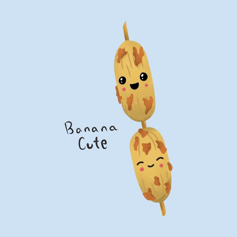 Banana cute Men's T-Shirt by Filipeanut Sari-Sari Store