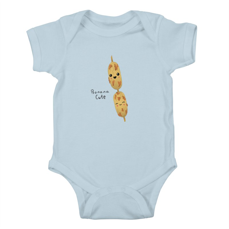 Banana cute Kids Baby Bodysuit by Filipeanut Sari-Sari Store