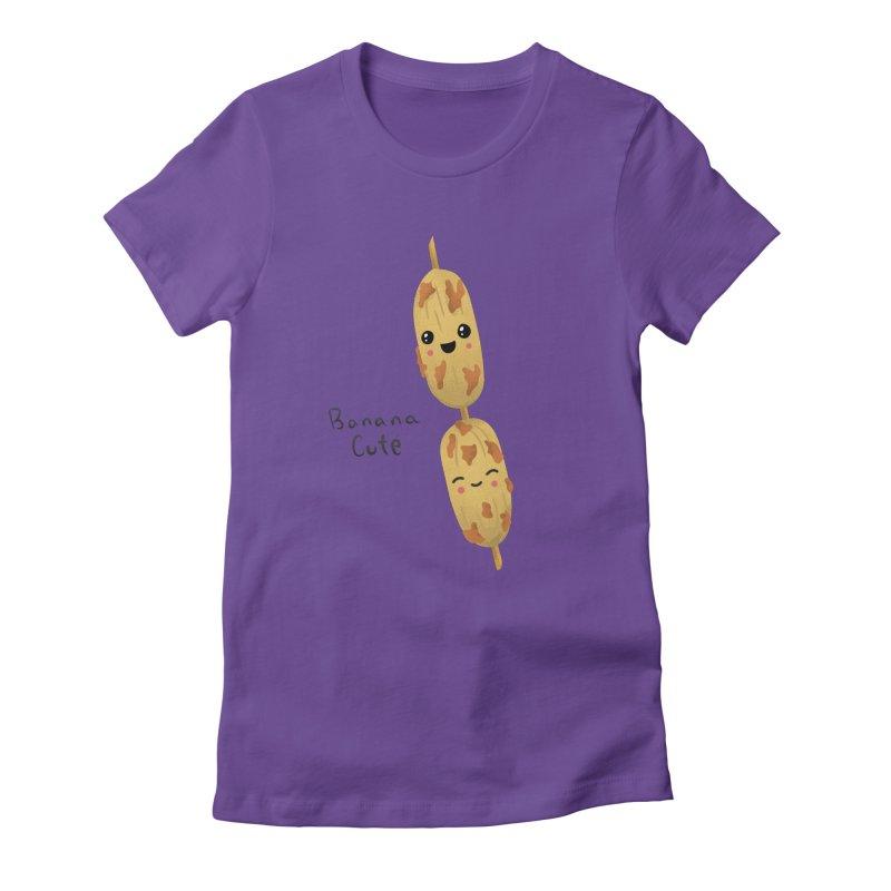 Banana cute Women's T-Shirt by Filipeanut Sari-Sari Store