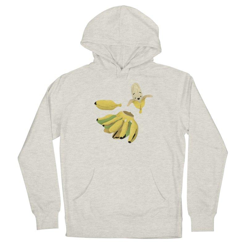 Saba bananas Women's Pullover Hoody by Filipeanut Sari-Sari Store