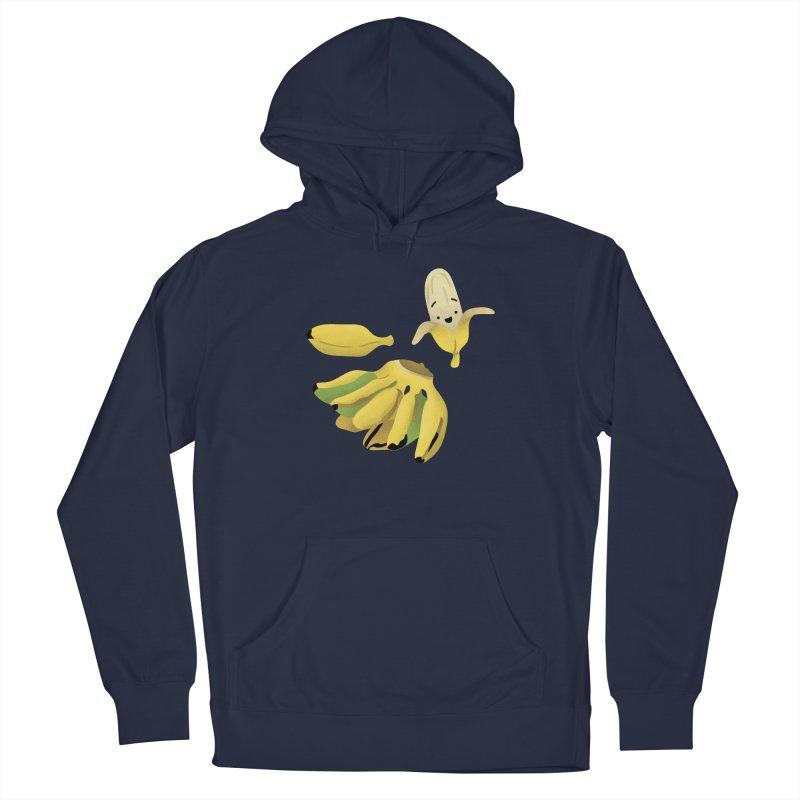 Saba bananas Men's Pullover Hoody by Filipeanut Sari-Sari Store