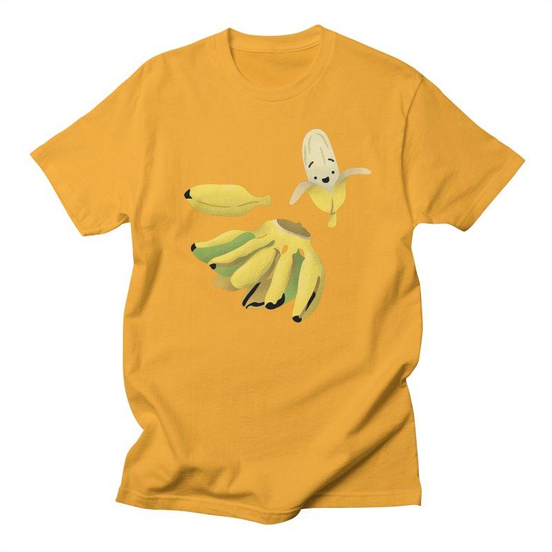 Saba bananas Men's T-Shirt by Filipeanut Sari-Sari Store