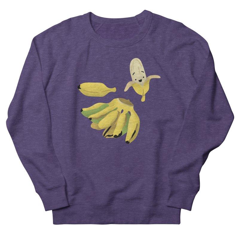Saba bananas Women's French Terry Sweatshirt by Filipeanut Sari-Sari Store