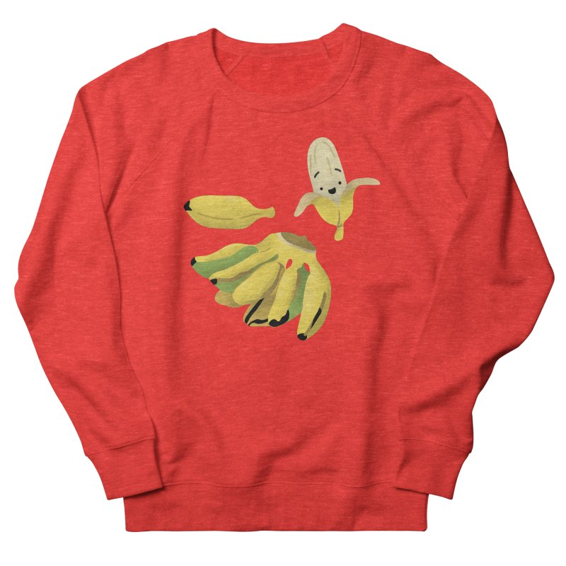 Saba bananas Women's Sweatshirt by Filipeanut Sari-Sari Store