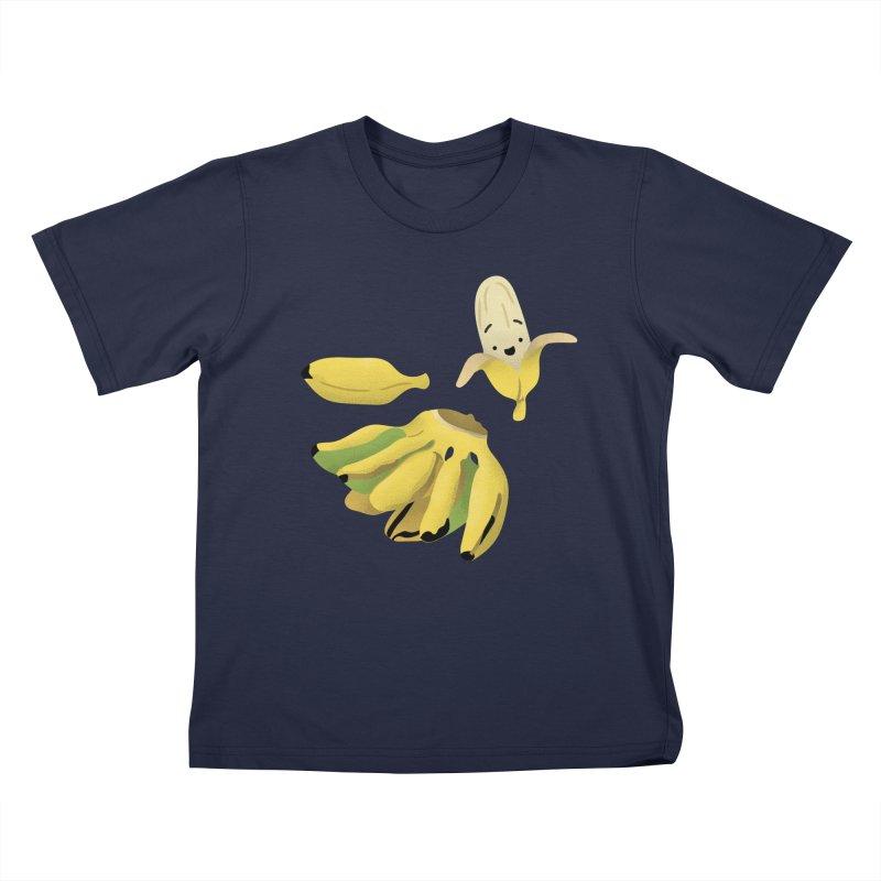 Saba bananas Kids T-Shirt by Filipeanut Sari-Sari Store