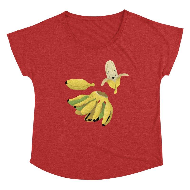 Saba bananas Women's Scoop Neck by Filipeanut Sari-Sari Store